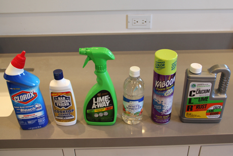 soap scum cleaning products